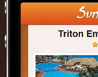 Travel Agency iPhone app