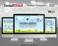 SocialCloud Keynote Template V.01