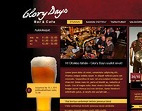 Glory Days -website