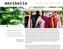 Maribella -website