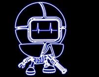 ROBOIbic V 1.0 neon