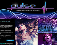 Club Pulse -website