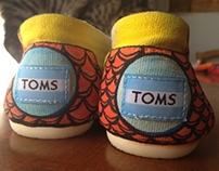 TOMs Shoes Style Your Sole & Commissions