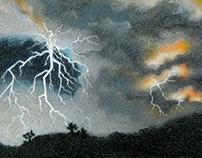 Volcanic Lightening Series