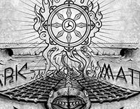 """Album Cover Concept """"Dark Matter Dharma"""""""