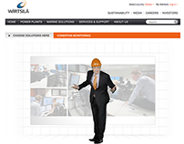 Wärtsilä Solution Studio Website