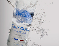 "Grey Goose Ad ""Distilled with Class"""