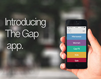 Gap App Redesign.