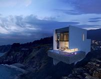 Nha Trang villa on cliff