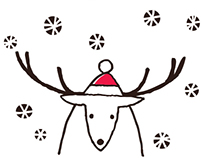 Festive Reindeer