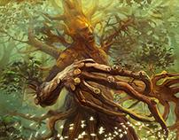 Fantasy cards illustration
