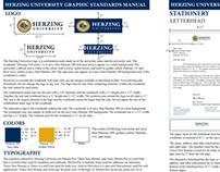 Herzing University Standards Manual Project