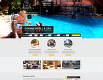 Diwane Hotel Website - Responsive design