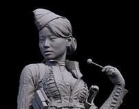 Amber Statue