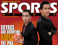 Alaska Aces' Baguio and Tenorio