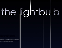 Invention of the Lightbulb Poster