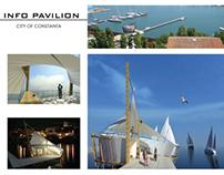 Info Pavilion, city of Constanta, Romania