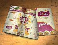Foody Restaurant Menu