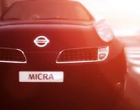 Nissan Micra animation & shading tests