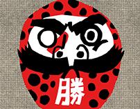 Daruma - fall seven times, get up eight times