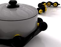 Portable stove - Concept
