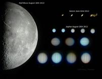 Half-Moon and Jupiter