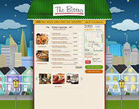 The Bistro - Web Design