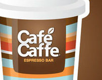 Cafécaffe • Brand design, Identity, Packaging and Print