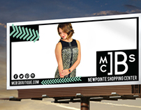 McB's Boutique Fall Billboards & Ad