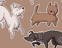 Dog Sticker Sheet
