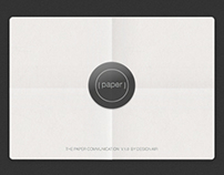 Paper Communication Concept