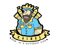 King + Queen Kainos T-shirt design
