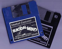 Meatball Explosion / Suicidal Mind single