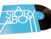 a story of a boy-vinyl record