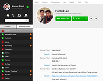 UI Concept - Skype