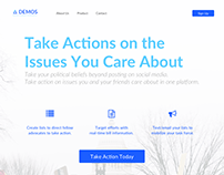 Demos - Branding, Web Design