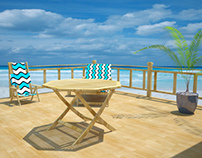 Modern Beach Room