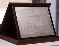 Silver-plated Plaques for Pernod Ricard