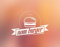 Nom Burger Logo
