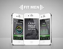 Fit Men Mobile App
