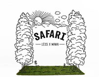 SAFARI(LESS X MANIA) look book