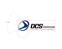 DCS telecom logo re-branding
