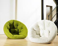 Nest / Nido - multifunctional futon furniture