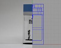 3D Model- Perfume Bottle