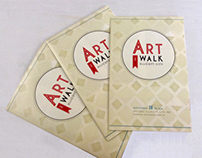 1st Annual Ellicott City Art Walk Logo & Print Design