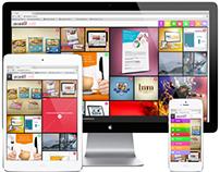 Avanti! Comunicação Website Design