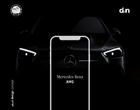 Mercedes Benz AMG, UI Redesign