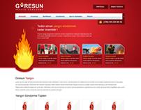 Fire Stop Web Design