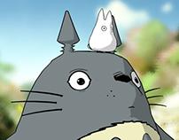 3D Totoro