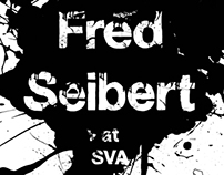Fred Seibert Lecture at SVA Poster